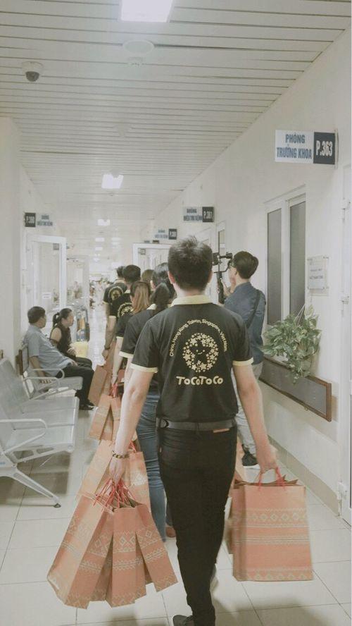TocoToco đón Trung thu cùng các trẻ em tại khoa Nhi bệnh viện K Tân Triều - Ảnh 2