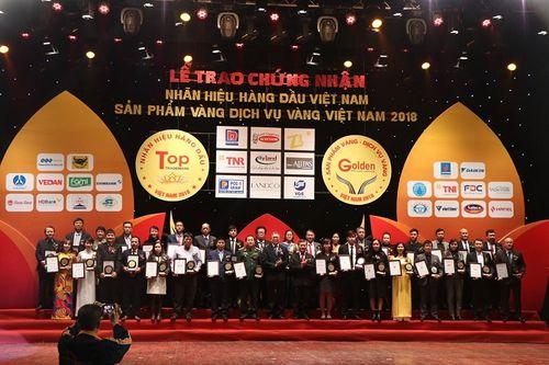 SATO xuất sắc đạt Top 100 Nhãn hiệu hàng đầu Việt Nam năm 2018 - Ảnh 1