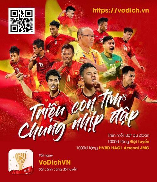 Sát cánh cùng đội tuyển Việt Nam trong từng trận đấu tại Asian Cup 2019 - Ảnh 1