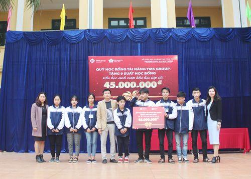 Quỹ học bổng tài năng TMS Group: Chắp cánh ước mơ tri thức cho các học sinh vượt khó học giỏi tại Vĩnh Phúc - Ảnh 2
