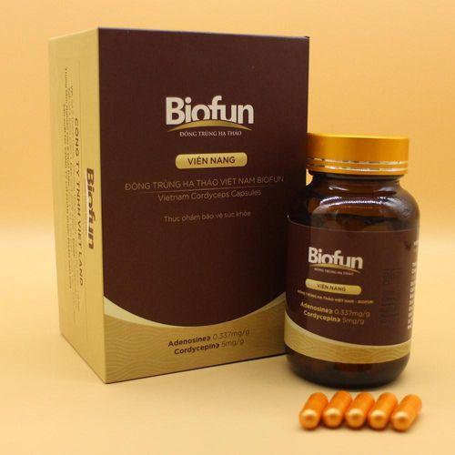 Nâng cao sức đề kháng với đông trùng hạ thảo biofun dạng viên - Ảnh 1