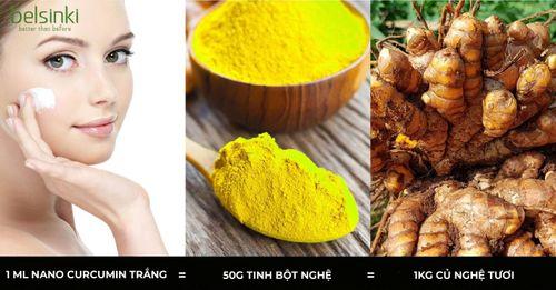 Chăm sóc da mang lại hiệu quả tốt nhất nhờ dưỡng chất Nano curcumin trắng - Ảnh 1