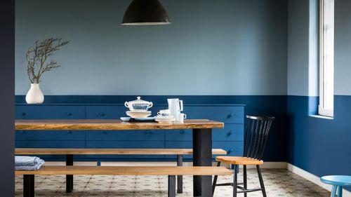 6 ý tưởng mới lạ phối màu sơn phòng khách thêm hiện đại và đẹp mắt - Ảnh 4