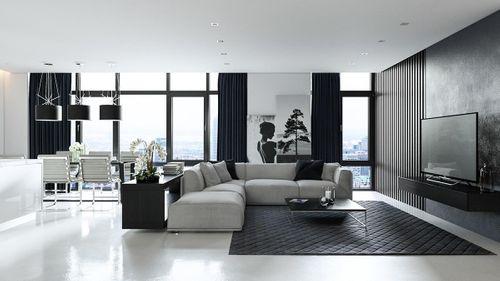 6 ý tưởng mới lạ phối màu sơn phòng khách thêm hiện đại và đẹp mắt - Ảnh 6