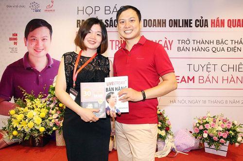 Buổi ra mắt 2 cuốn sách về kinh doanh online của thầy Hán Quang Dự - Ảnh 2