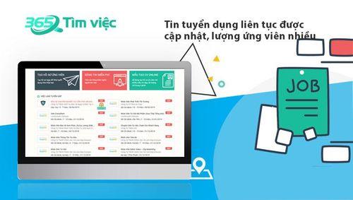 Timviec365 - Trợ thủ đắc lực giúp bạn tìm kiếm việc làm nhanh chóng - Ảnh 2