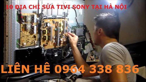Địa chỉ sửa tivi Sony tốt nhất tại Hà Nội - Ảnh 1