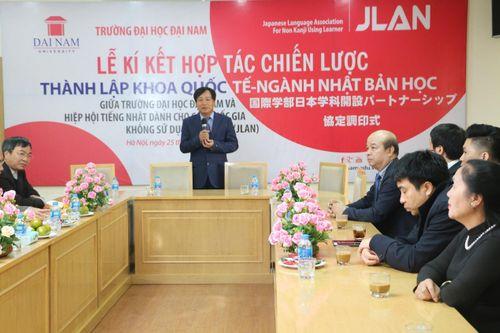 ĐH Đại Nam ký kết Hiệp định thành lập Khoa Quốc tế - ngành Nhật Bản học - Ảnh 1