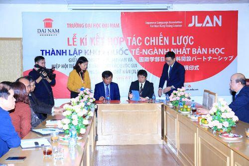 ĐH Đại Nam ký kết Hiệp định thành lập Khoa Quốc tế - ngành Nhật Bản học - Ảnh 3