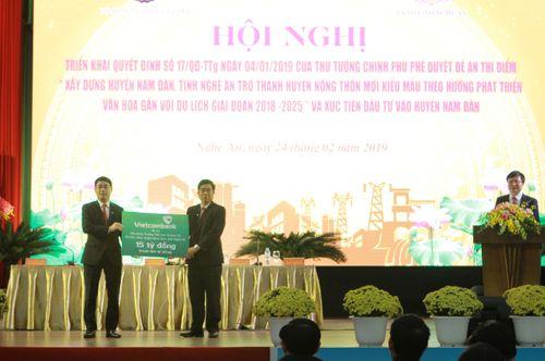 Vietcombank tài trợ 15 tỷ đồng xây dựng trường học tại huyện Nam Đàn, tỉnh Nghệ An - Ảnh 3