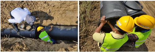 Xinxing hướng dẫn lắp đặt thi công ống gang cầu tại Chiang Mai Thái Lan - Ảnh 1
