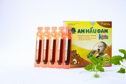 Những đặc tính nổi trội của An Hầu Đan Kids trong điều trị viêm amidan, VA ở trẻ nhỏ - Ảnh 1