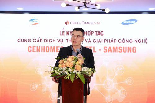 Hai ông lớn Viettel và Samsung bắt tay hợp tác với website BĐS Cenhomes.vn - Ảnh 1