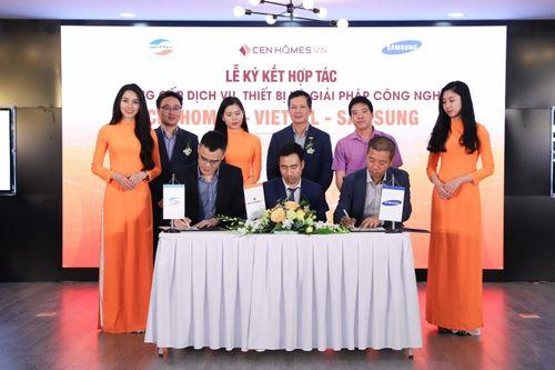 Hai ông lớn Viettel và Samsung bắt tay hợp tác với website BĐS Cenhomes.vn - Ảnh 3