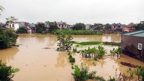 Thanh Hóa: 7 thôn ở xã Thiệu Dương bị ngập nặng - Ảnh 1