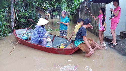 Thanh Hóa: 7 thôn ở xã Thiệu Dương bị ngập nặng - Ảnh 2