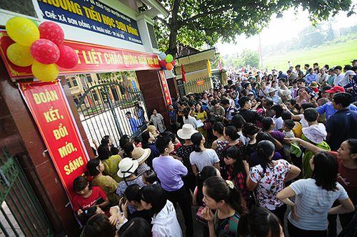 Hà Nội: Sẽ  trả lại tiền cho phụ huynh nếu trường tiểu học Sơn Đồng thu sai - Ảnh 1