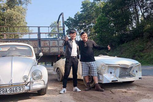 """Quá trình độ xe """"đồng nát"""" 50 triệu thành """"siêu xe mui trần"""" ấn tượng của chàng trai Hà Tĩnh - Ảnh 1"""