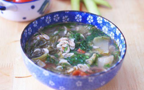Món ngon mỗi ngày: Canh dưa chua nấu tép dân dã ngon cơm - Ảnh 3