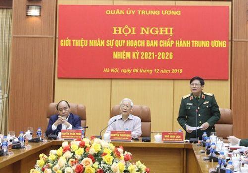 Giới thiệu nhân sự Quân đội quy hoạch Ban Chấp hành Trung ương - Ảnh 2