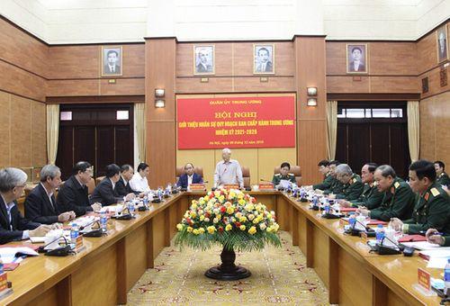 Giới thiệu nhân sự Quân đội quy hoạch Ban Chấp hành Trung ương - Ảnh 1