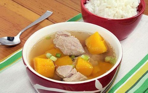 Món ngon mỗi ngày: Canh bí đỏ sườn non bổ dưỡng cho cả gia đình - Ảnh 5
