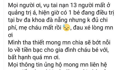 Giả danh người nhà vụ tai nạn 13 người chết ở Quảng Nam: Chuyện rất buồn còn làm buồn thêm - Ảnh 1