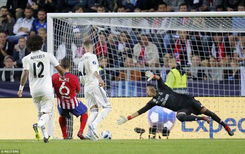 Đánh bại Real Madrid, Atletico Madrid lần thứ 3 giành Siêu cúp Châu Âu - Ảnh 2