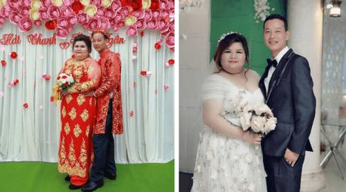 Chuyện tình đẹp như truyện cổ tích của cô nàng 130kg khiến bao người ghen tỵ - Ảnh 1
