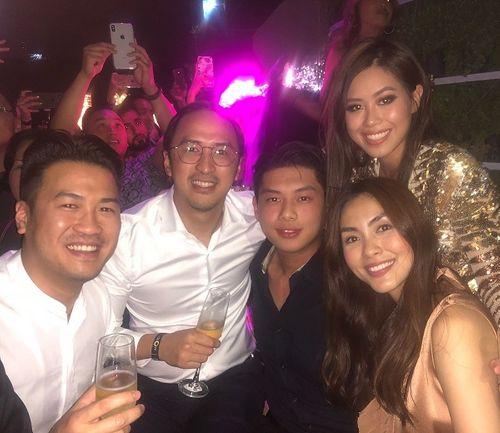 Choáng váng với tiệc chào năm mới của Rich Kid Việt - Ảnh 1