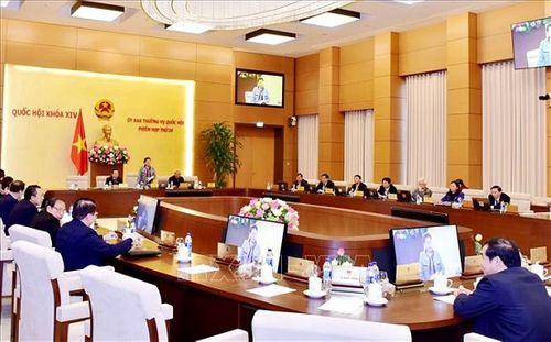 Khai mạc phiên họp thứ 30 của Ủy ban Thường vụ Quốc hội - Ảnh 2