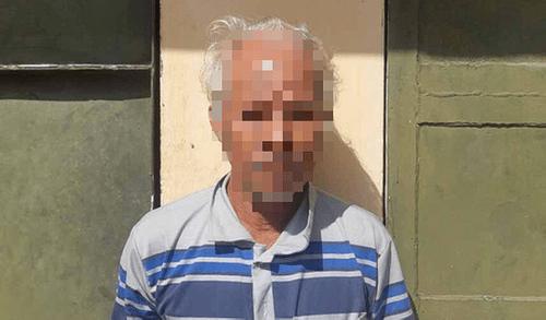 Bắt giữ ông lão U70 hiếp dâm bé gái 12 tuổi ở nhà một mình - Ảnh 1