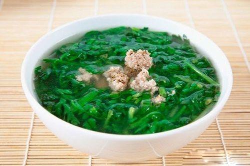 Món ngon mỗi ngày: Canh cải cúc nấu thịt băm thơm ngon  - Ảnh 3