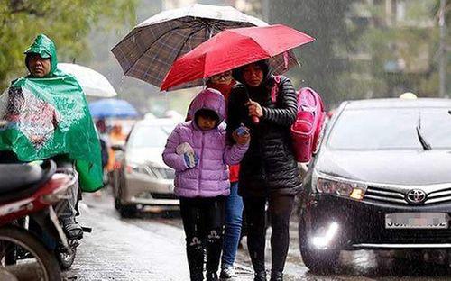 Miền Bắc mưa rét trong 10 ngày tới, người dân đi sắm Tết Nguyên đán cần chú ý - Ảnh 1