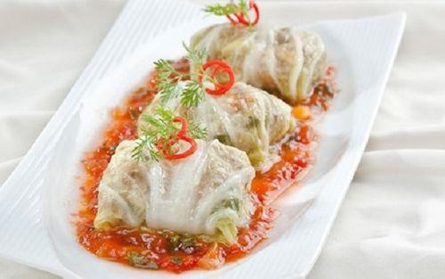 Món ngon mỗi ngày: Cải thảo gói tôm thịt ngọt thơm - Ảnh 3