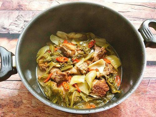 Món ngon mỗi ngày: Sườn kho dưa đậm đà cho bữa tối ngày lạnh - Ảnh 5