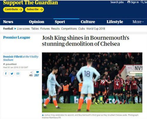 Thua 0-4 trước Bournemouth, Chelsea nếm trải thất bại nặng nề nhất trong 22 năm qua - Ảnh 2
