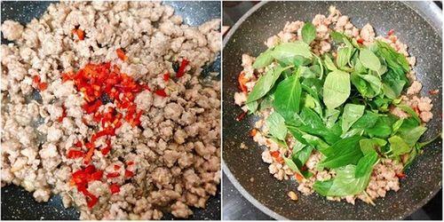 Món ngon mỗi ngày: Thịt heo băm xào theo cách này ăn mãi không chán - Ảnh 3