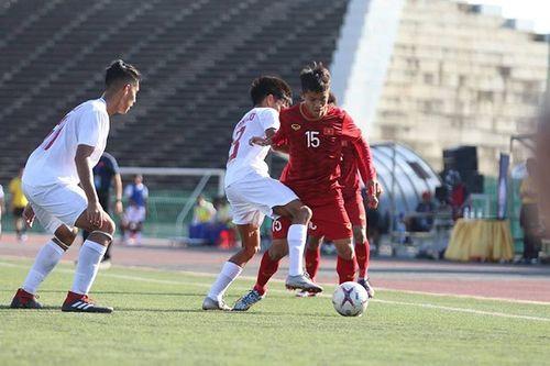 Sau chiến thắng nhọc nhằn trước Philippines, HLV Quốc Tuấn nói điều bất ngờ - Ảnh 1
