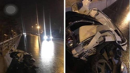Truy tìm ô tô gây tai nạn nghiêm trọng ở đường vành đai 2 khiến hai người chết - Ảnh 1