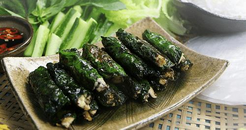 Món ngon mỗi ngày: Rằm tháng Giêng vào bếp làm đậu hủ cuốn lá lốt chay  - Ảnh 1