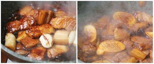 Món ngon mỗi ngày: Thịt lợn kho nấm đùi gà ngon không tưởng - Ảnh 3