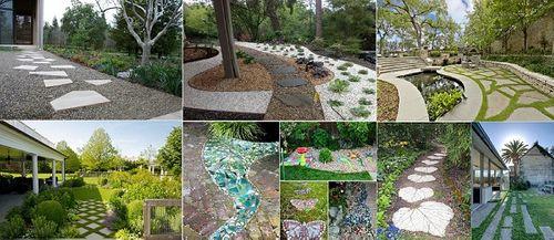 Ý tưởng thiết kế gạch lát sân vườn, vỉa hè rẻ, đẹp chẳng thể ngờ - Ảnh 3