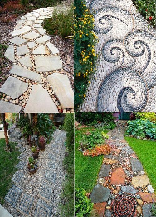 Ý tưởng thiết kế gạch lát sân vườn, vỉa hè rẻ, đẹp chẳng thể ngờ - Ảnh 4