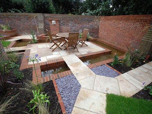 Ý tưởng thiết kế gạch lát sân vườn, vỉa hè rẻ, đẹp chẳng thể ngờ - Ảnh 1