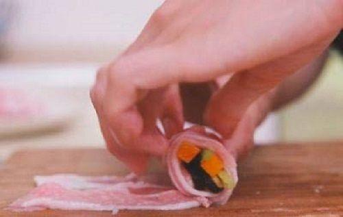 Món ngon mỗi ngày: Thịt ba chỉ cuộn rau đơn giản cho đấng mày râu vào bếp ngày 8/3 - Ảnh 2