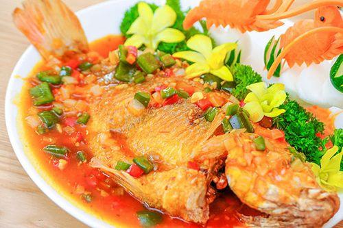 Món ngon mỗi ngày: Cá diêu hồng sốt cà chua siêu ngon hấp dẫn cả nhà - Ảnh 4