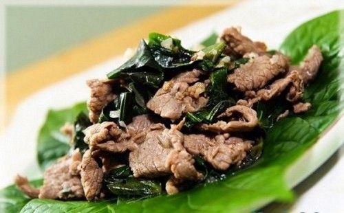Món ngon mỗi ngày: Thịt bò xào lá lốt ngon không thể chối từ - Ảnh 5