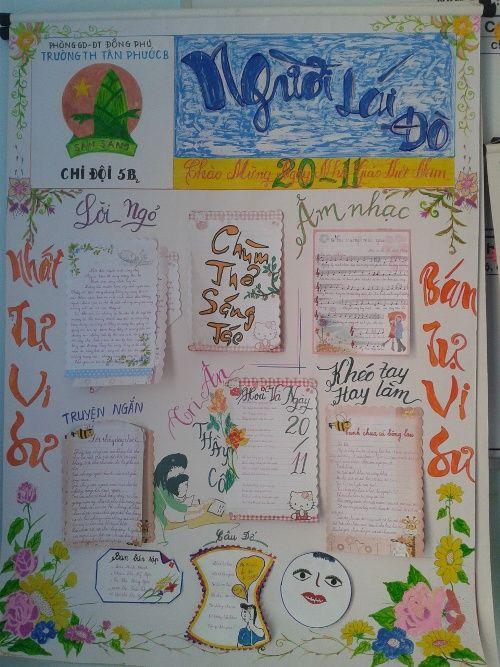 Tuyển tập những bài xã luận hay cho báo tường nhân ngày 20/11 - Ảnh 2