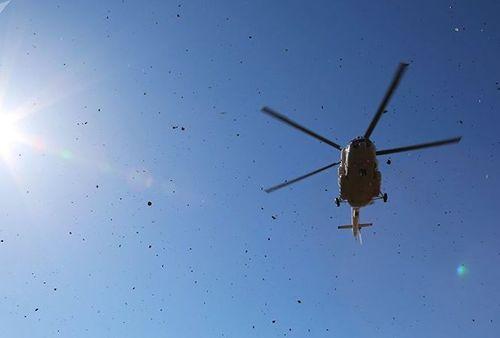 Trực thăng rơi ở Nga, 18 người thiệt mạng - Ảnh 1